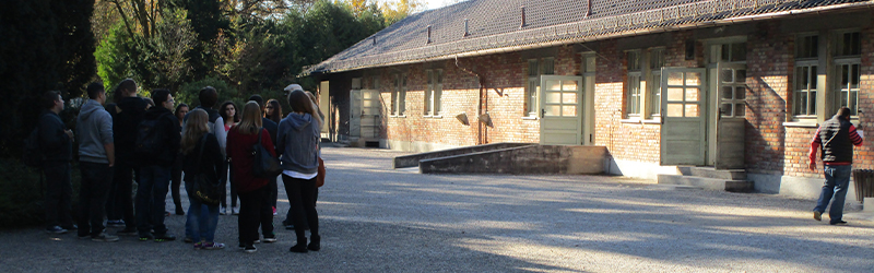 building at concentration camp